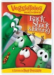 Veggie Tales Rack, Shack and Benny DVD
