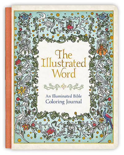 Illustrated Word Coloring Journal