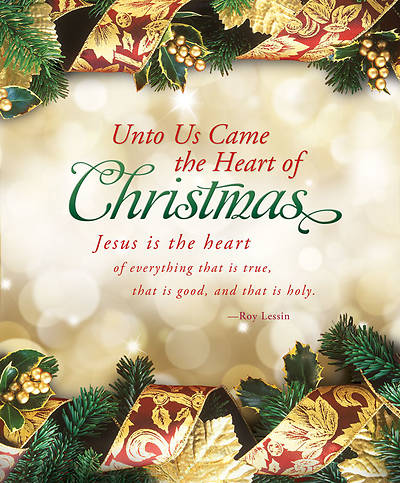 Christmas Bulletin - Unto Us Came the Heart of Christmas Regular (Package of 100)