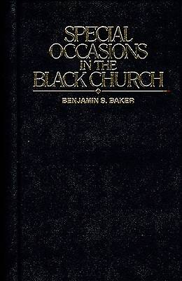 Special Occasions in the Black Church