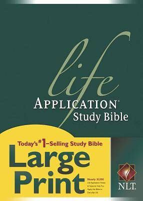 Life Application Study Large Print New Living Translation Bible Hardcover