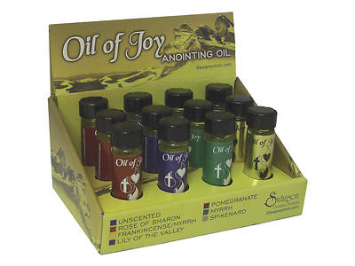 Oil of Joy Assorted Anointing Oils with Display Box