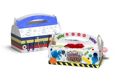 Vacation Bible School (VBS) 2014 Workshop of Wonders WOW Wonder Box Crafts - Session 5 (Pkg of 6)