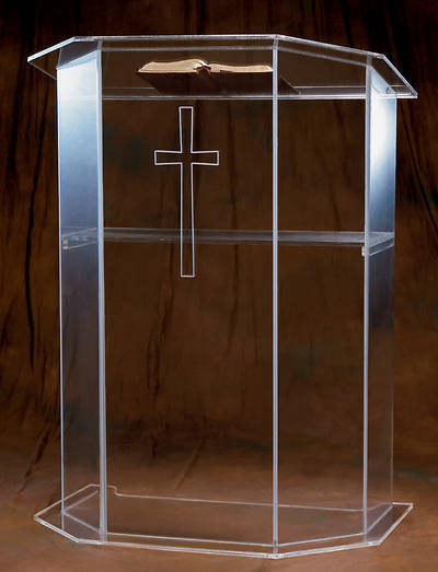 Woerner 3351S Acrylic Pulpit