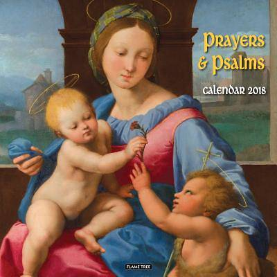 Prayers & Psalms Wall Calendar 2018 (Art Calendar)