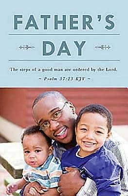 Father and Sons Fathers Day Bulletin 2012, Regular Size (Package of 50)