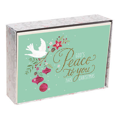 Peace Dove Christmas Cards Box of 18