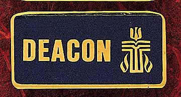 Deacon Identification Presbyterian Pin