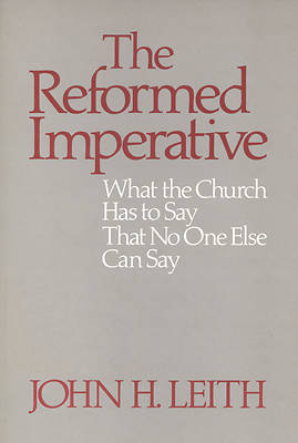 The Reformed Imperative