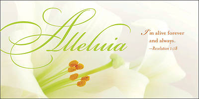 Alleluia Easter Lilies Offering Envelope 2014 (Package of 50)