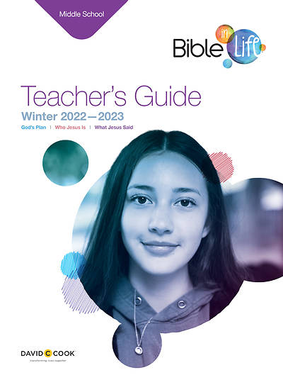 Bible-in-Life Middle School Teachers Guide Winter 2014-15