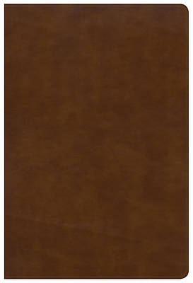 NKJV Large Print Ultrathin Reference Bible, British Tan Leathertouch, Indexed