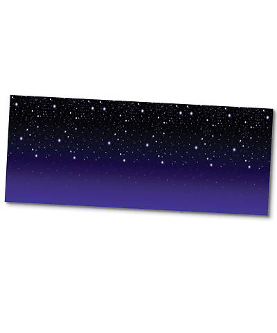 Group VBS 2015 Starry Night Plastic Backdrop