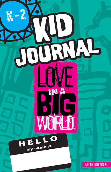 Love In A Big World: Anger Management K-2 Journal (5 Sessions) Print