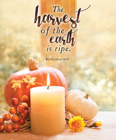 Harvest of Earth Thanksgiving Legal Size Bulletin