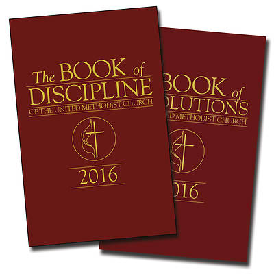 The Book of Discipline & The Book of Resolutions of The United Methodist Church 2016 2-Pack