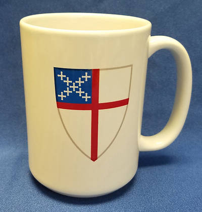 Coffee Mug with Episcopal Shield