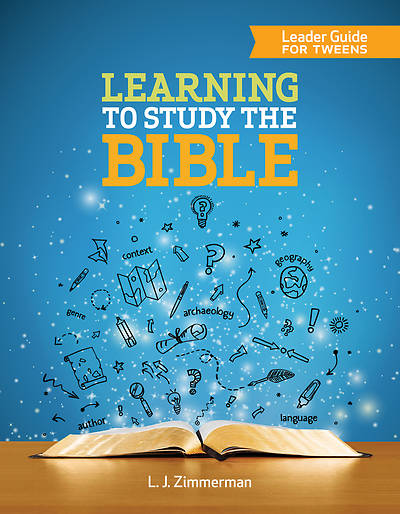 Learning to Study the Bible Leader Guide