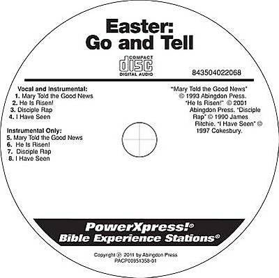 PowerXpress Easter Go & Tell Music CD