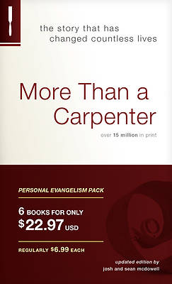 More Than a Carpenter Personal Evangelism 6pk