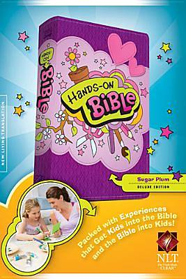 Hands On Bible Updated Edition NLT Sugar Plum