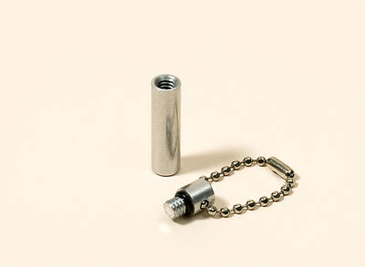 Anointing Oil Carrier Capsule with Key Chain