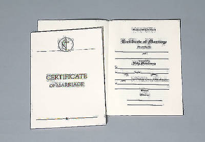 United Methodist Marriage Certificate with Traditional 1964 Service (Package of 3)