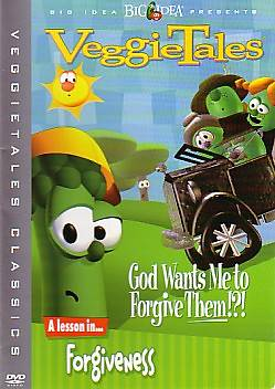 Veggie Tales God Wants Me to Forgive Them DVD