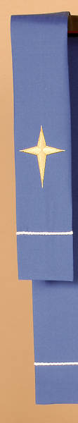 Vision Series Blue Bookmark with Star Cross
