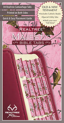 Realtree(tm) Pink Camo Bible Tabs