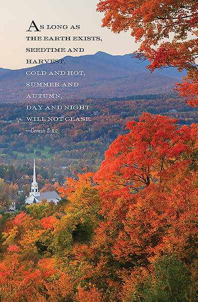 As Long as The Earth Exists Fall Bulletin 2014, Regular (Package of 50)