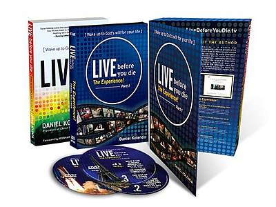 Live Before You Die-The Experience (Book + 3 DVDs)