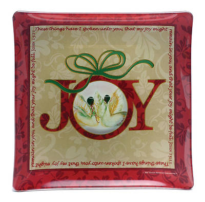 African American Expressions Gift Wall Plate – Joy John 15:11