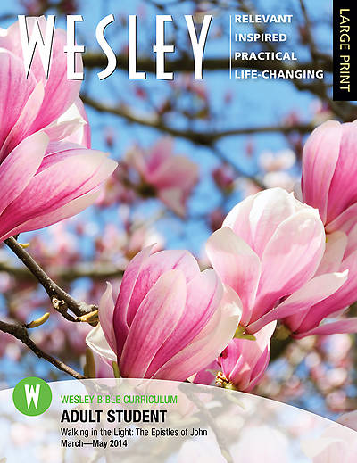 Wesley Adult Bible Student Large Print Spring 2014