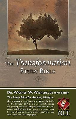 The Transformation Study Bible Personal Edition New Living Translation