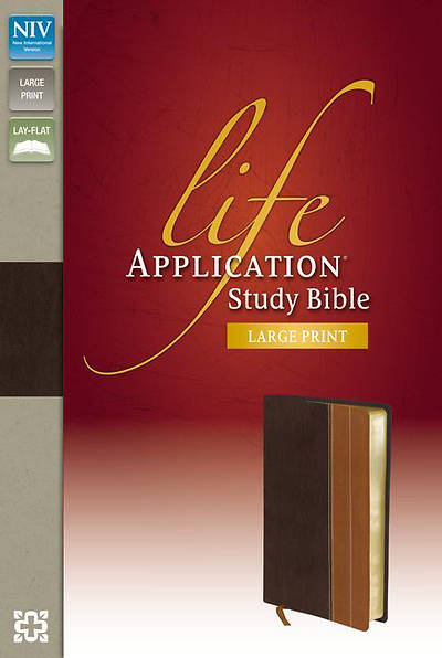 NIV Life Application Study Bible, Large Print