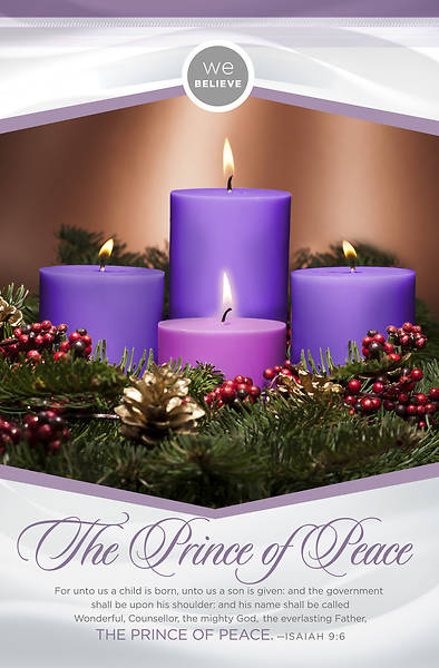 We Believe: The Prince of Peace Advent Week 4 Bulletin - Pack of 100