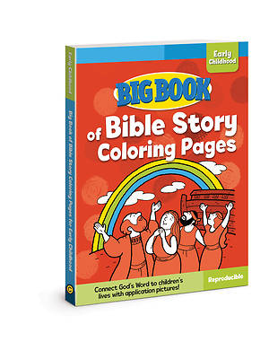 Big Book of Bible Story Coloring Pages for Early Childhood ( Big Books )