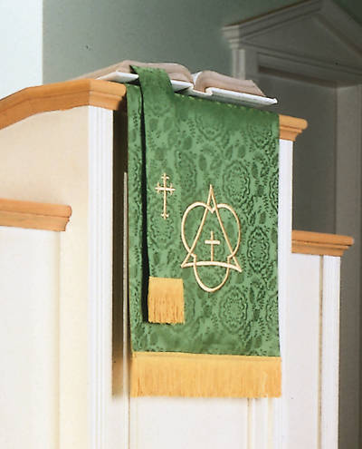 Abbott Hall TRN Green Trinity Two-Piece Parament Set
