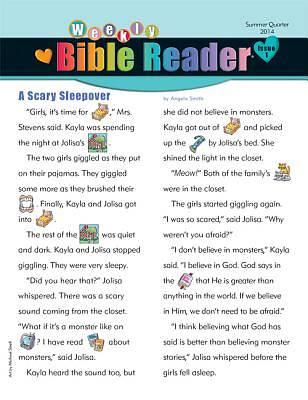 Standard HeartShaper Early Elementary Weekly Bible Reader Take Home Papers Summer 2014 (Pack of 5)