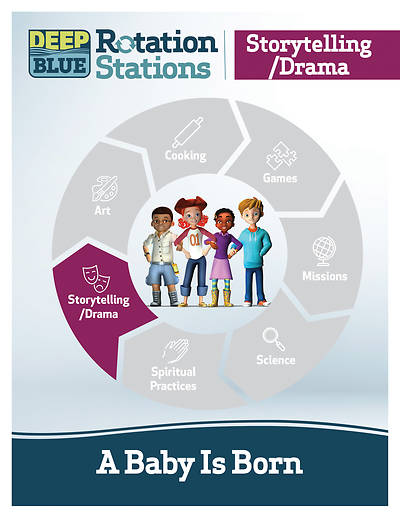 Deep Blue Rotation Station: A Baby Is Born - Storytelling/Drama Station Download