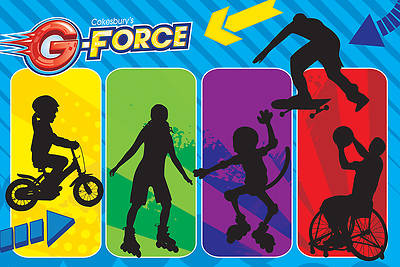 Vacation Bible School (VBS) 2015 G-Force Decorating Mural