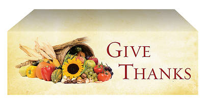 Economy Thanksgiving Parchment Parament Altar Frontal
