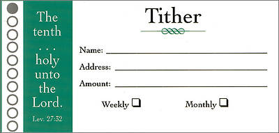 Tither Offering Envelopes (Package of 100)