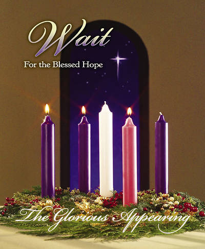 Advent Week 3/Wait Bulletin, Large (Package of 100)