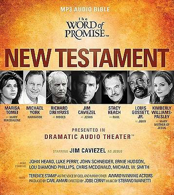 The Word of Promise New Testament MP3 Audio Bible
