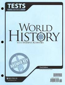 World History Testpack Answer Key 3rd Edition