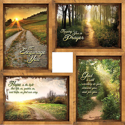 Peaceful Pathways - Encouragement Boxed Cards - Box of 12