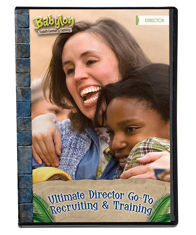 Vacation Bible School (VBS) 2018 Babylon Ultimate Director Go-To Recruiting & Training DVD