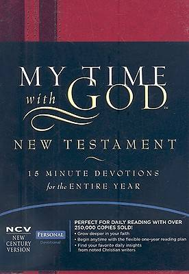 My Time with God New Century Version Bible